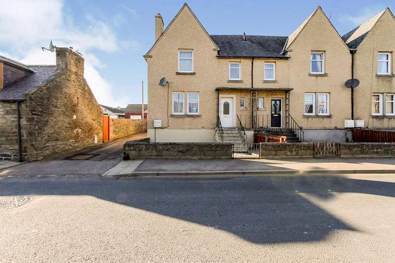 3 Bedrooms End Of Terrace House for sale in Moss Street, Keith, Moray, AB55