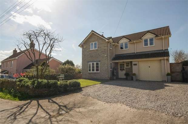 4 Bedrooms Detached House for sale in Quab Lane, WEDMORE, Somerset