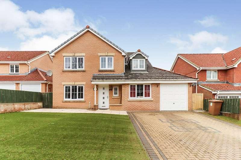4 Bedrooms Detached House for sale in Glendarvel Place, Glenrothes, Fife, KY7