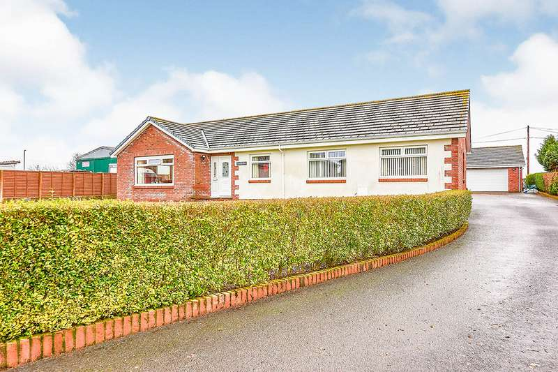 4 Bedrooms Detached Bungalow for sale in Vancouver Road, Eastriggs, Annan, Dumfries and Galloway, DG12