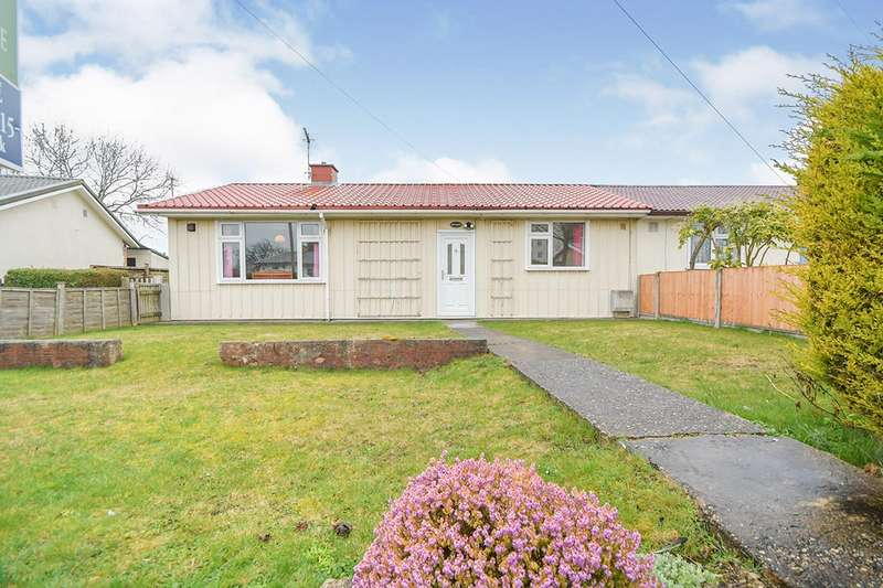 3 Bedrooms Semi Detached Bungalow for sale in Thorpe Avenue, Lincoln, Lincolnshire, LN1
