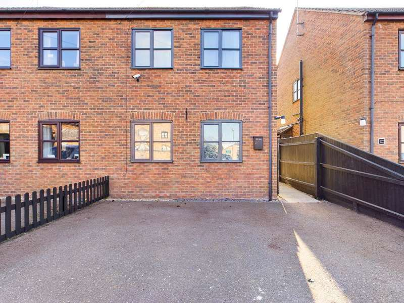 3 Bedrooms Semi Detached House for sale in Wharf Street, Sutton Bridge, Spalding, Lincs, PE12 9UF