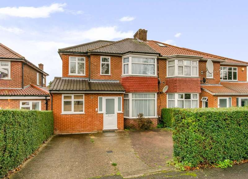 4 Bedrooms Semi Detached House for sale in Whitton Avenue East, UB6