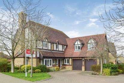 5 Bedrooms Detached House for sale in Lynmouth Crescent, Furzton, Milton Keynes, Bucks