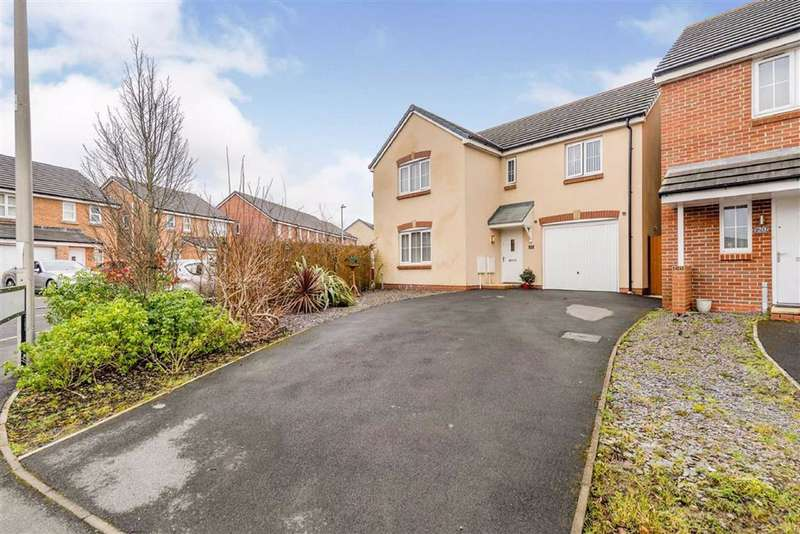 4 Bedrooms Detached House for sale in Ffordd Maes Gwilym, Carway, Kidwelly