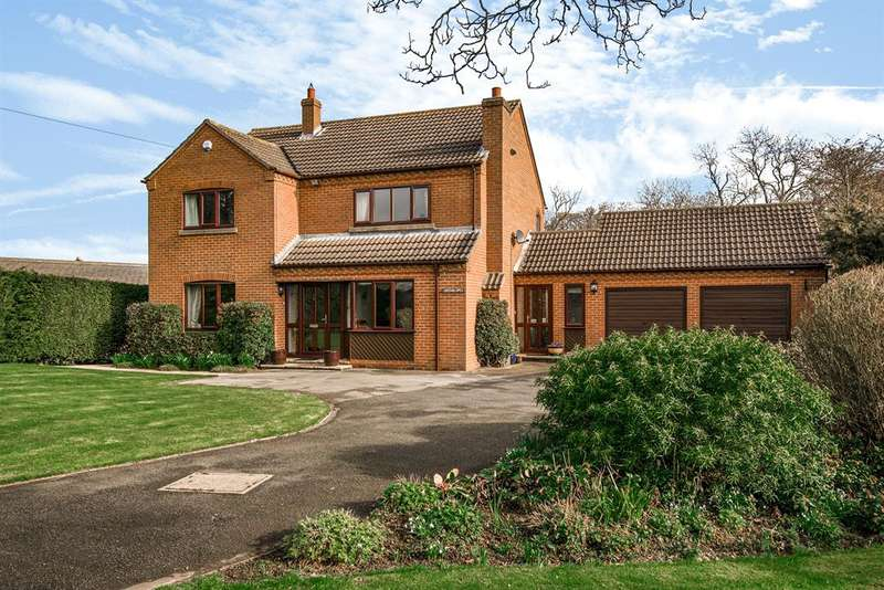 4 Bedrooms Detached House for sale in Tockwith Road, Long Marston, York, YO26 7PQ