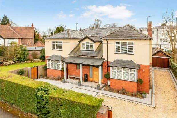 6 Bedrooms Detached House for sale in Sylvan Grove, Altrincham
