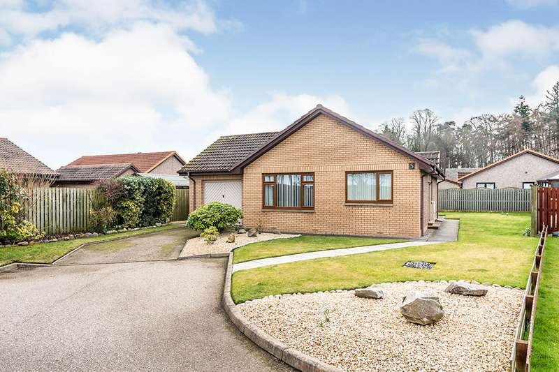 2 Bedrooms Detached Bungalow for sale in Moray Gardens, Forres, Moray, IV36
