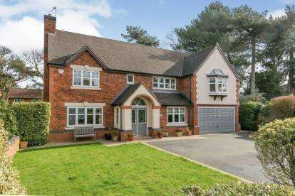 4 Bedrooms Detached House for sale in The Lodge, Vyner Road South, Prenton, Merseyside, CH43