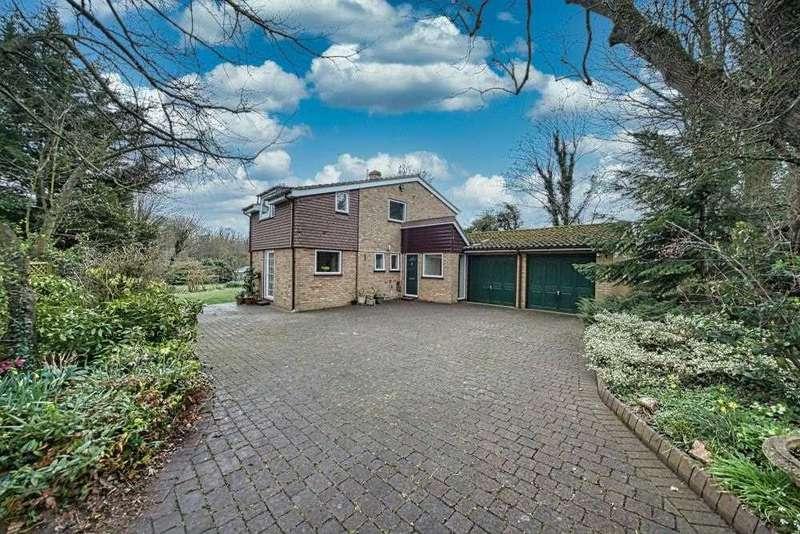 4 Bedrooms Detached House for sale in Station Road, Odsey, Baldock