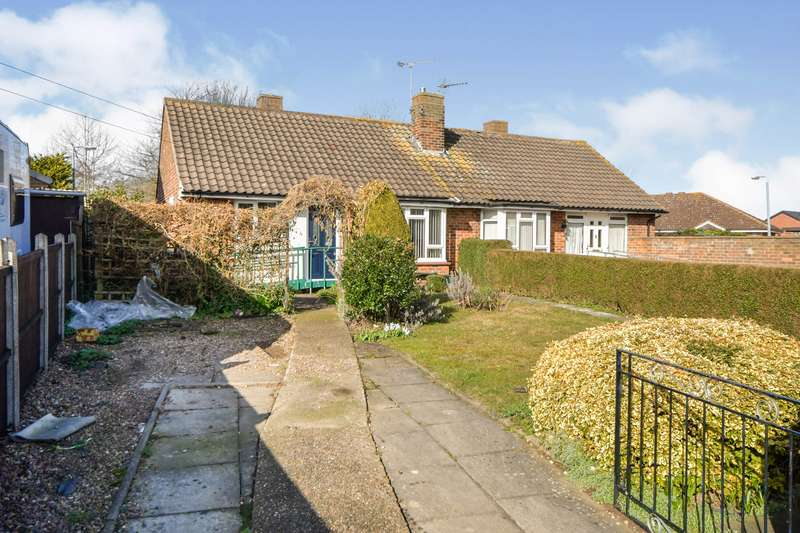 2 Bedrooms Semi Detached Bungalow for sale in Bassingham Crescent, Lincoln, Lincolnshire, LN2