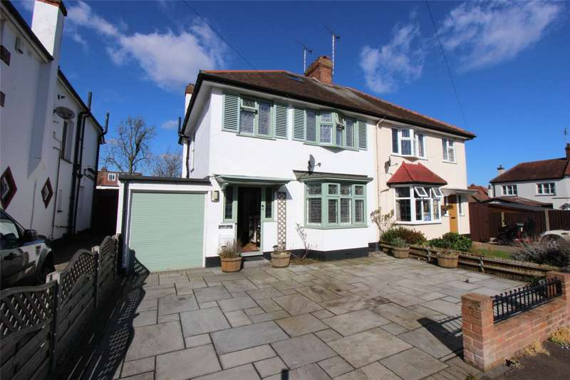 3 Bedrooms Semi Detached House for sale in Hamilton Close, Leigh-on-Sea, Essex, SS9