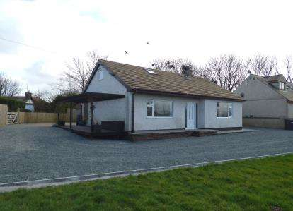 4 Bedrooms Detached House for sale in Llanynghenedl, Holyhead, Sir Ynys Mon, LL65