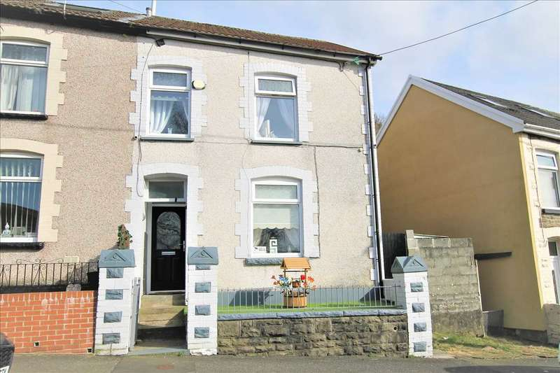 3 Bedrooms End Of Terrace House for sale in Charles Street, Porth