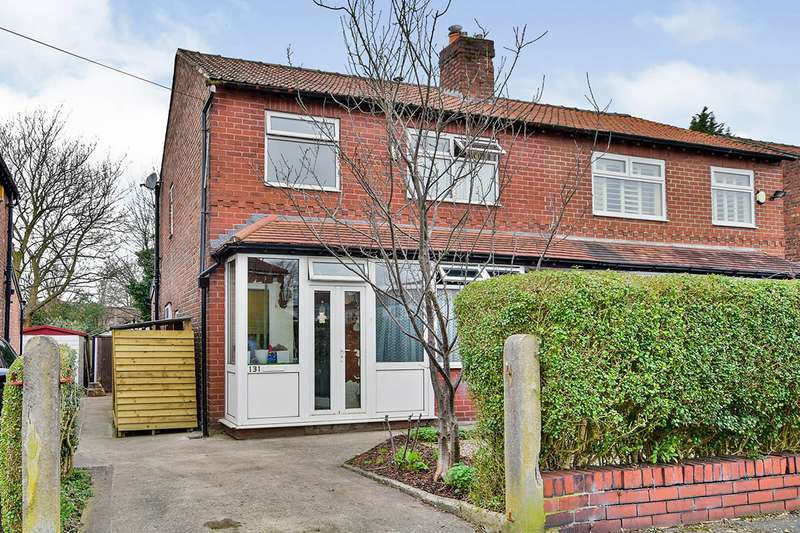 3 Bedrooms Semi Detached House for sale in Buckingham Road, Manchester, Greater Manchester, M21
