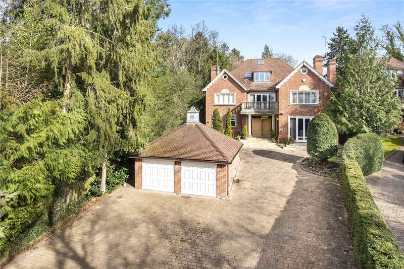 5 Bedrooms Detached House for sale in Silverwood House, Sandy Lane, Northwood, Middlesex, HA6