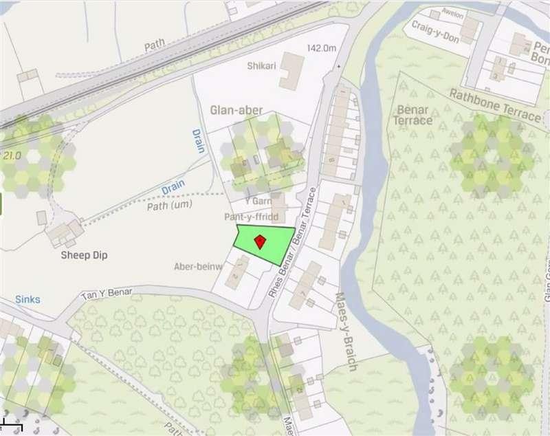 Land Commercial for sale in Benar Terrace, Dolwyddelan