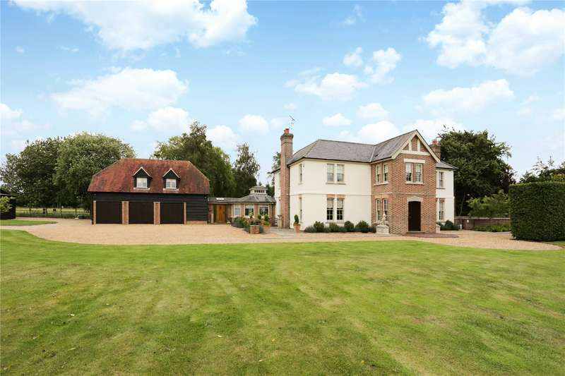 5 Bedrooms Detached House for sale in Collingbourne Road, Burbage, Marlborough, Wiltshire, SN8