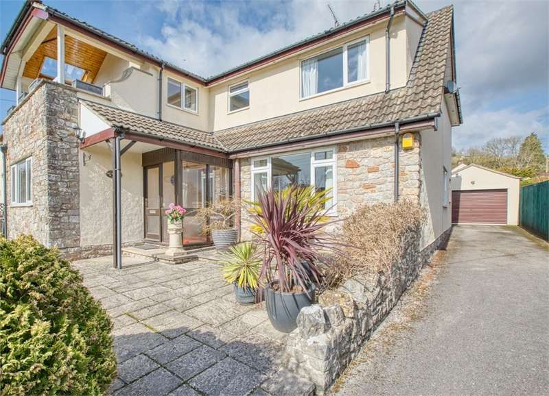 5 Bedrooms Detached House for sale in Brockfield, Kent Street, Cheddar. Offers in Excess of, Somerset