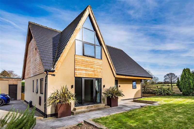 4 Bedrooms Detached House for sale in Arkendale Road, Ferrensby, North Yorkshire