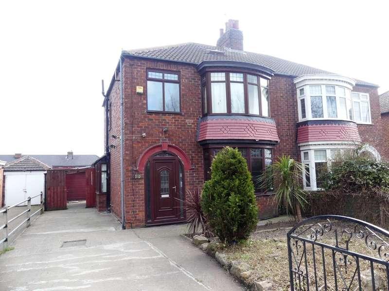 4 Bedrooms Semi Detached House for sale in Kirkleatham Lane, Redcar