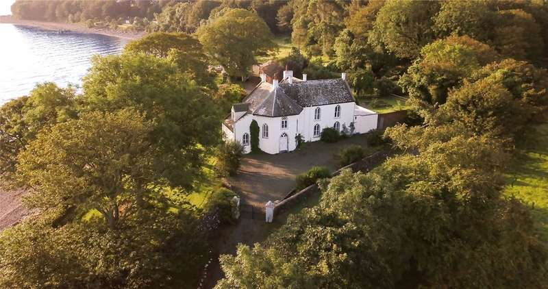 5 Bedrooms Detached House for sale in Chapel Rossan, Ardwell, Stranraer, Dumfries & Galoway, South West Scotland, DG9