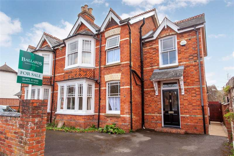 4 Bedrooms Semi Detached House for sale in Hamilton Avenue, Henley-on-Thames, Henley On Thames, RG9