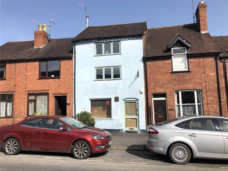 3 Bedrooms Terraced House for sale in 127 Old Street, Ludlow, Shropshire, SY8 1NU