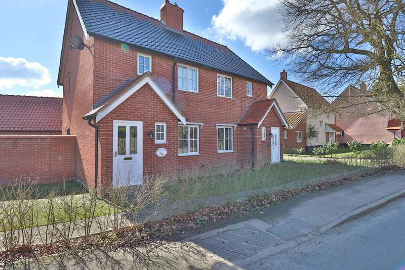 2 Bedrooms Semi Detached House for sale in Mellis Road, Yaxley, Eye