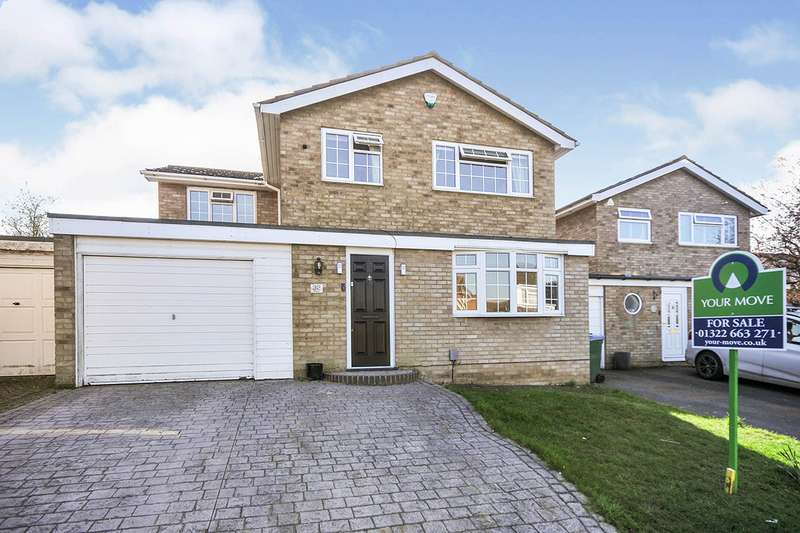 4 Bedrooms Link Detached House for sale in Glendale, Swanley, Kent, BR8