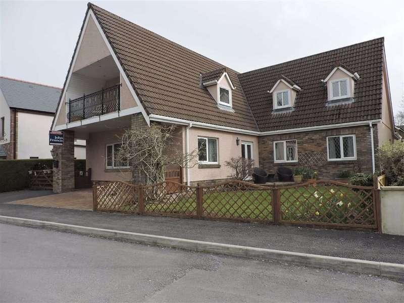 5 Bedrooms Detached House for sale in Llys Y Nant, Off Kings Road, Llandybie