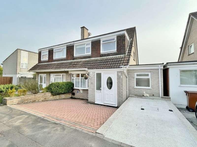3 Bedrooms Semi Detached House for sale in Longbrook Close, Ivybridge