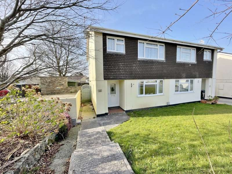 3 Bedrooms Semi Detached House for sale in Weatherdon Drive, Ivybridge