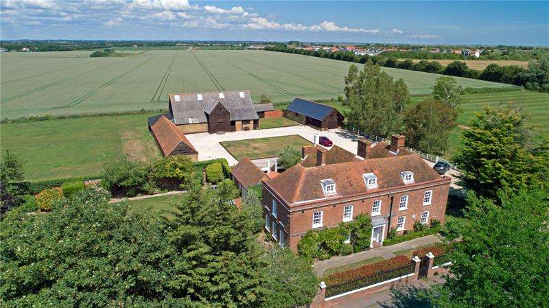 7 Bedrooms Detached House for sale in North Shoebury House, North Shoebury, Essex, SS3