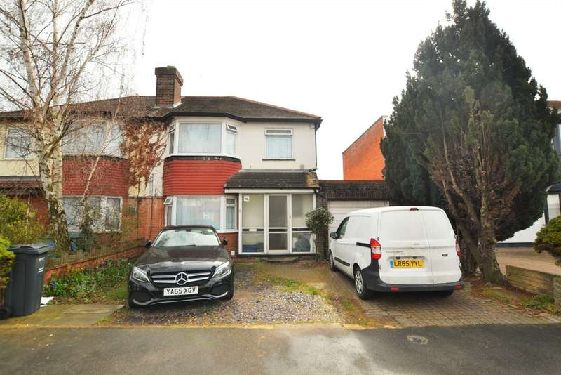 4 Bedrooms Semi Detached House for sale in Lulworth Avenue, Osterley
