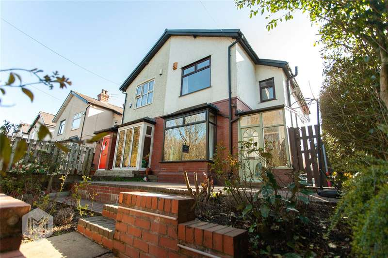 3 Bedrooms Semi Detached House for sale in Nuttall Hall Road, Ramsbottom, Bury, BL0