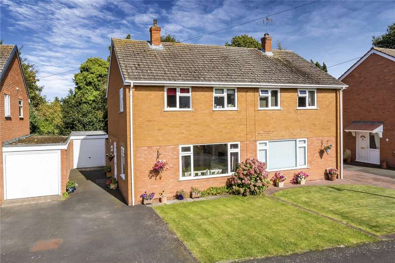 3 Bedrooms Semi Detached House for sale in 17 Captains Road, Bridgnorth, Shropshire, WV16