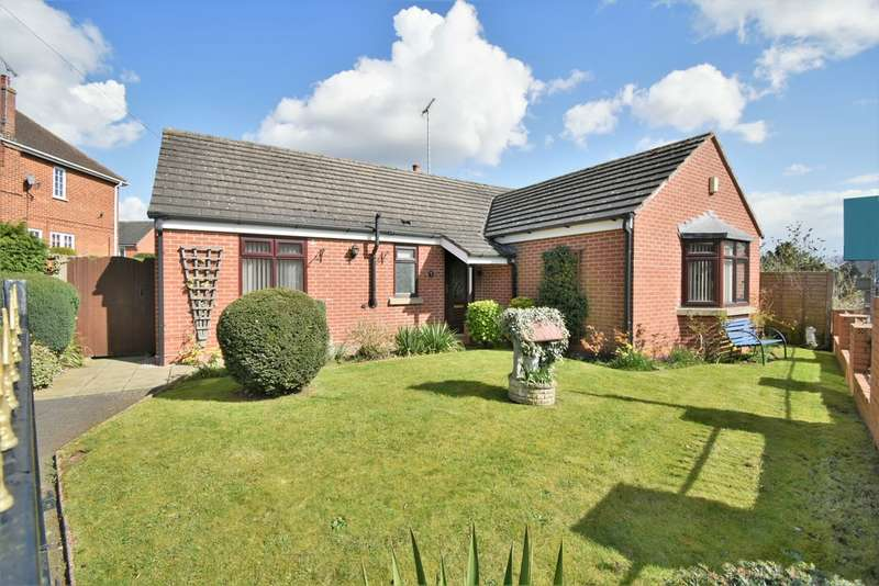 3 Bedrooms Detached Bungalow for sale in Narrow Lane, Donisthorpe