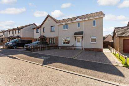 3 Bedrooms Semi Detached House for sale in Craigvale Crescent, Airdrie, North Lanarkshire