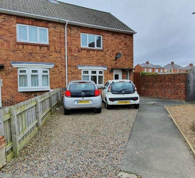 2 Bedrooms Semi Detached House for sale in Millbank Place, Bedlington, Tyne and Wear, NE22