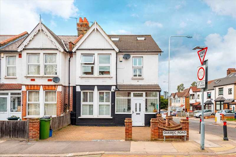 5 Bedrooms End Of Terrace House for sale in Quebec Road, Ilford, Essex, IG1