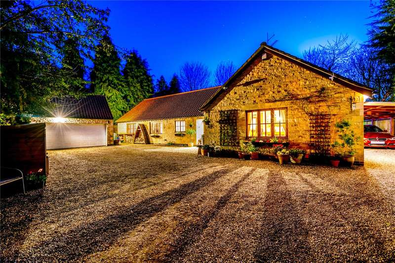 4 Bedrooms Detached Bungalow for sale in Main Street, North Rauceby, Sleaford, NG34