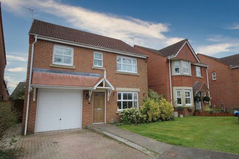 4 Bedrooms Detached House for sale in Maes Pinwydd, Ewloe