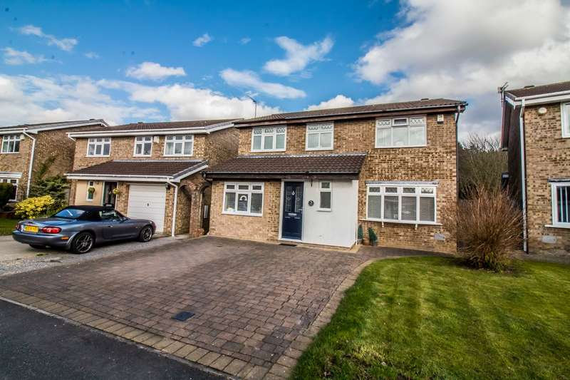 4 Bedrooms Detached House for sale in Rothley, Fatfield, Washington