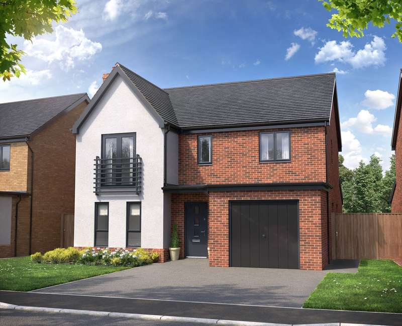 4 Bedrooms Detached House for sale in Oakworth Avenue, Atterbury, Milton Keynes, MK10