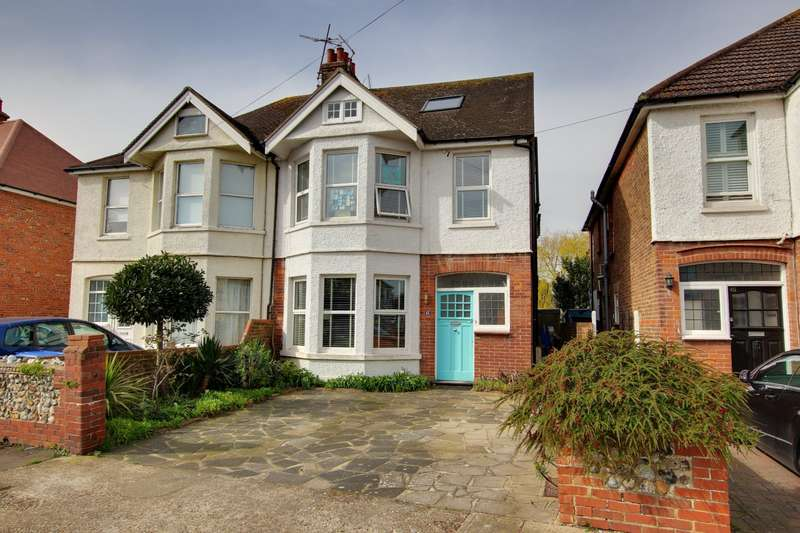 6 Bedrooms Semi Detached House for sale in Windsor Road, Worthing, West Sussex, BN11