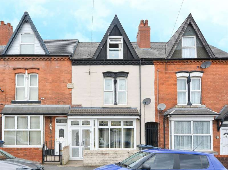 5 Bedrooms Terraced House for sale in Algernon Road, Edgbaston, B16