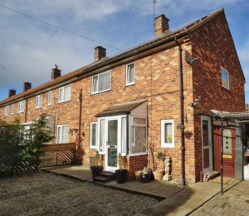 3 Bedrooms End Of Terrace House for sale in Norby Estate, Norby, Thirsk