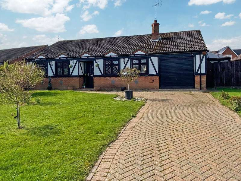 3 Bedrooms Detached Bungalow for sale in Maysfield Drive, Leverington, Wisbech, PE13 5JY