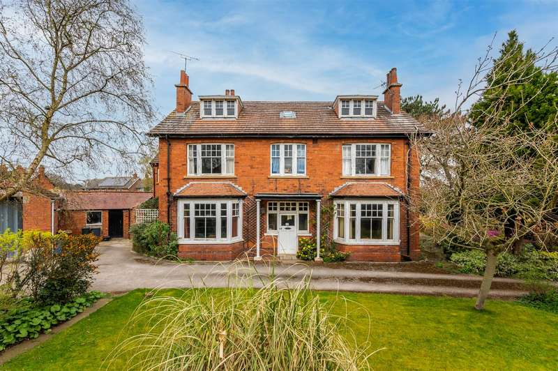 7 Bedrooms Detached House for sale in Avenue House, 58 Welham Road, Norton, Malton, North Yorkshire YO17 9DS